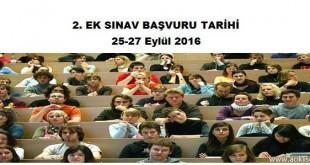 aciklise-2-ek-sinav-basvuru-tarihi